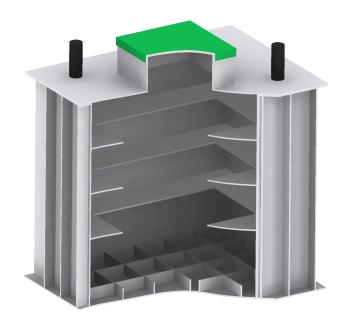 пластиковый погреб для дачи от производителя