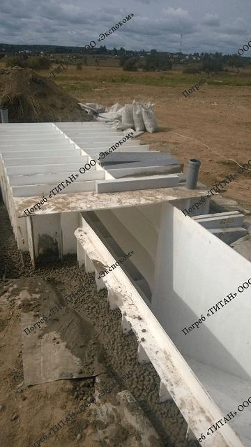 Погреб Титан Фермер монтаж на даче